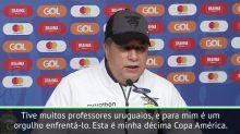 """COPA AMÉRICA: Gómez: """"Minha história como técnico é mais uruguaia do que qualquer coisa"""""""