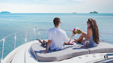 A honeymoon planner for billionaires says he's built a private beach, booked first-class flights for birds, and sourced 16 types of condoms