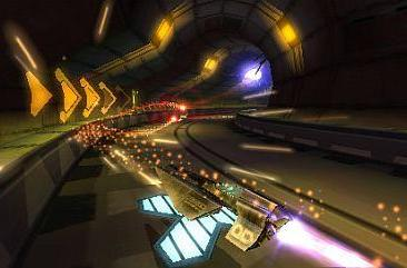 Wipeout Pulse screens showcase the beauty of speed