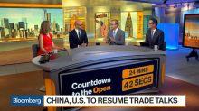 Markets Bounce Back as U.S., China Set Talks on Trade