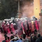 Protest chaos continues over Serbian leader