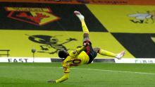Stunning Danny Welbeck overhead kick inspires Watford to vital win over Norwich