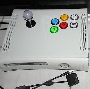 Modder turns RROD-stricken Xbox 360 into PS3 arcade controller, awesomeness