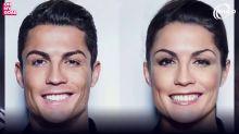Los mejores futbolistas del mundo convertidos en mujeres