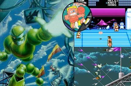 Vectorman dodges balls on Virtual Console today