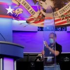 Lagging in polls, Trump to go on offensive in last presidential debate