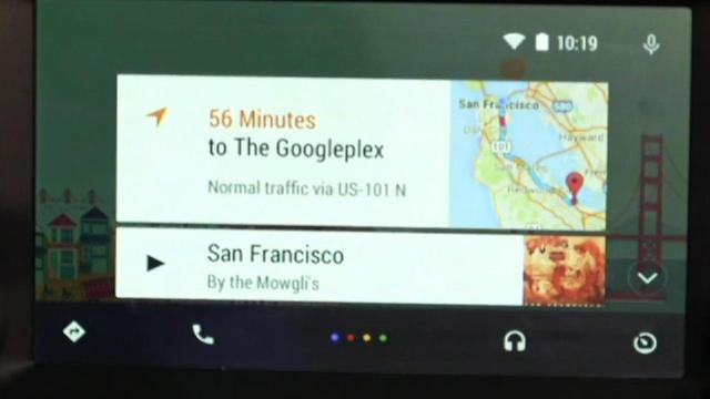 Google gives first look at Android Auto