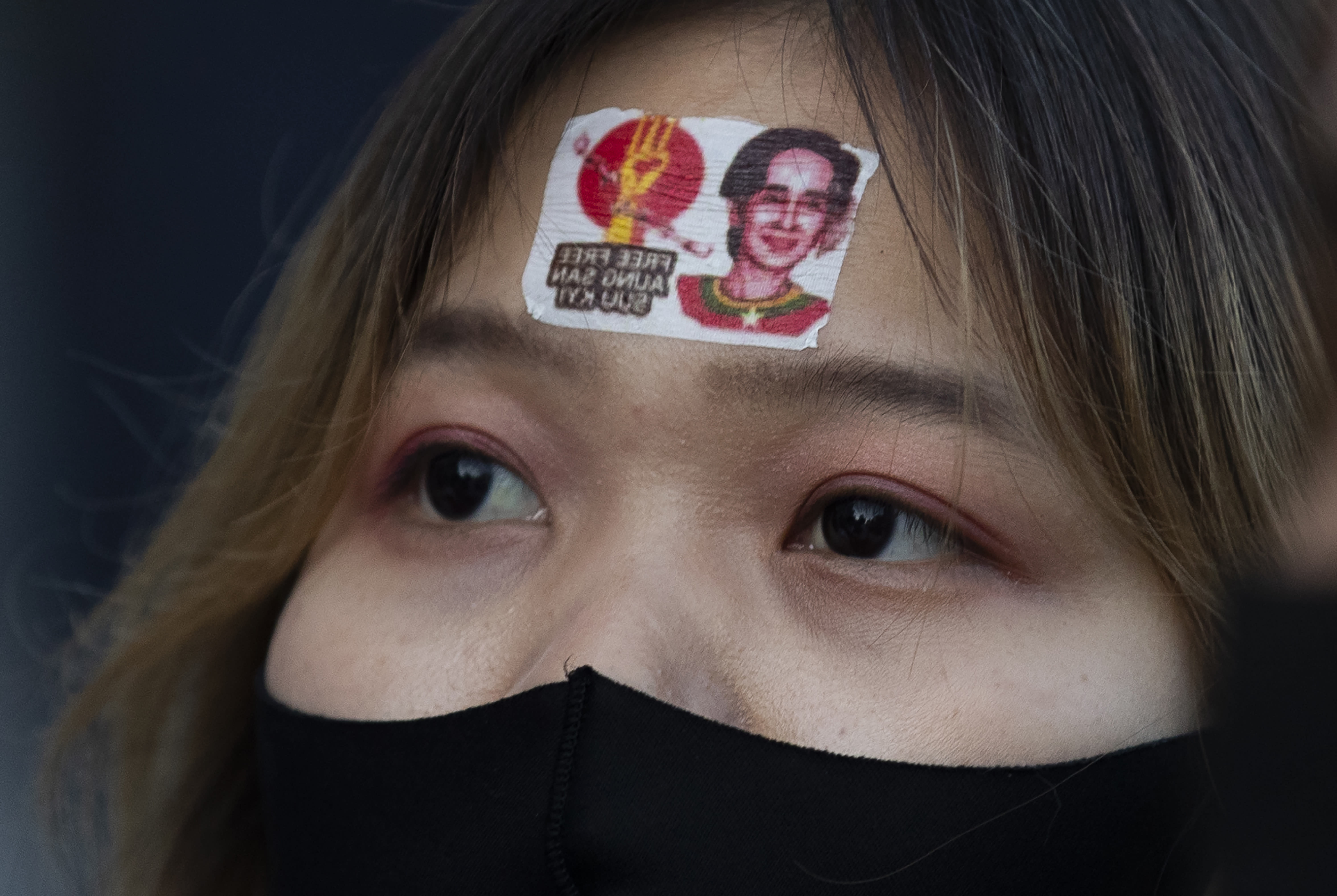 Myanmar protesters gather in Japan against coup at home