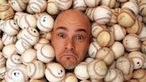 Man Owns Thousands Of Baseballs Caught At Games