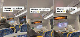 Sydney commuter's incredible train set-up