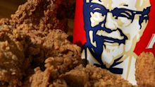 KFC owner beats on earnings, will partner with GrubHub on delivery