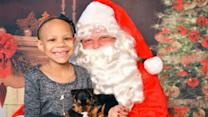 7-Year-Old Cancer Patient Surprised With Puppy From Santa