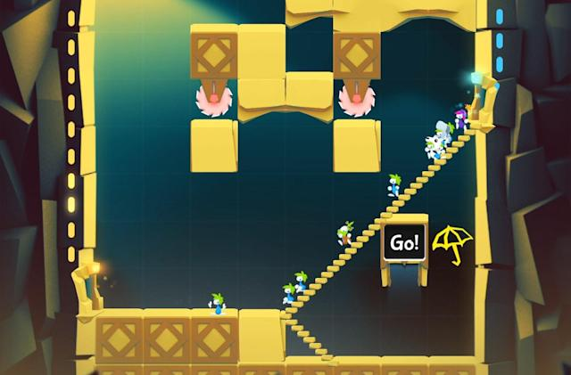 Classic puzzler 'Lemmings' returns as a free-to-play mobile game
