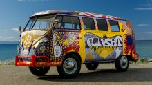 Iconic Volkswagen 'Light' bus from 1969 Woodstock gets new life