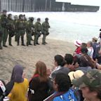 Dozens Arrested as Faith Leaders Hold `Love Knows No Borders` Protest at Border Wall