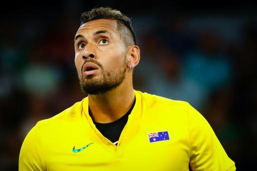 Kyrgios Turns On The Style To Defeat Tsitsipas In Atp Cup