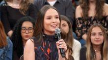Larissa Manoela conta que já fez xixi no palco e usa fralda nos shows