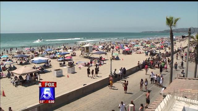 San Diegans Celebrate July 4th