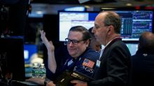 U.S. stocks rise on industrials; dollar flattens