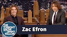 Zac Efron Revisits His Insane Childhood Hair With Jimmy Fallon