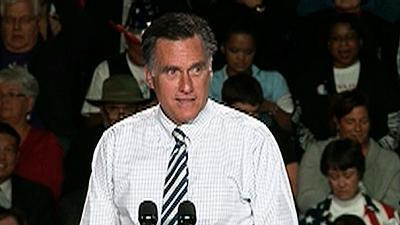 Romney: Obama campaign is shrinking