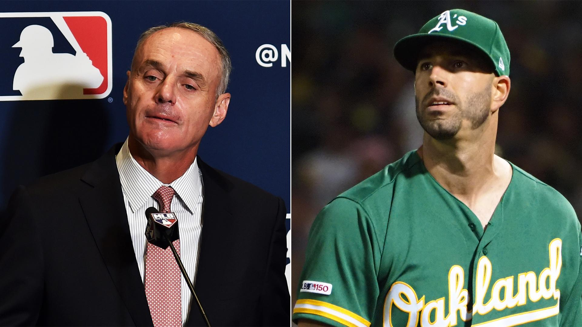 Rob Manfred says Astros whistleblower Mike Fiers did MLB 'a service'