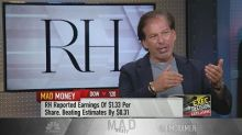 CEO of RH was inspired by Warren Buffett during the home ...