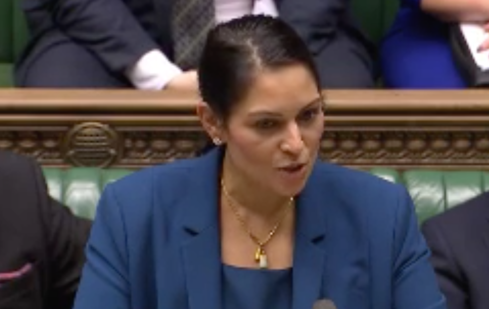Priti Patel calls Jeremy Corbyn 'rude' after he heckles her in House of Commons