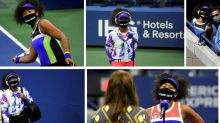 How Naomi Osaka Honoured 7 Victims of Racial Injustice with Her Face Masks at US Open 2020
