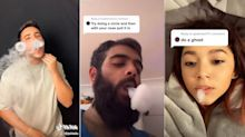 TikTok vaping challenge prompts warning from health experts