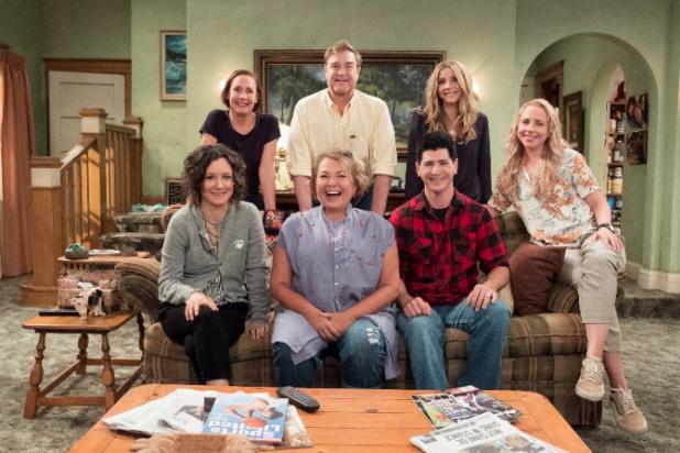 Roseanne Reboot Star Sara Gilbert, Happy Harry's Furniture