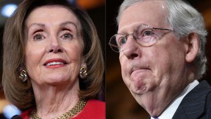Congress's choice: 'Go big' on virus aid or hit 'pause'