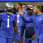 Rams coach Sean McVay runs an end-around on 'mood' talk