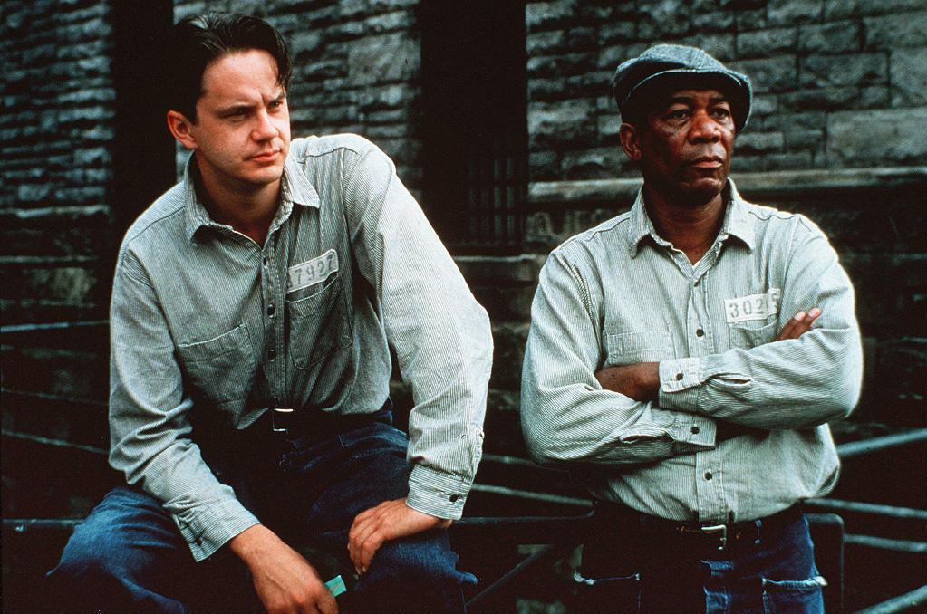 an analysis of the characters of andy dufrane and red abbot in shawshank redemption