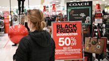U.S. shoppers stay away from stores, spend online as Black Friday begins