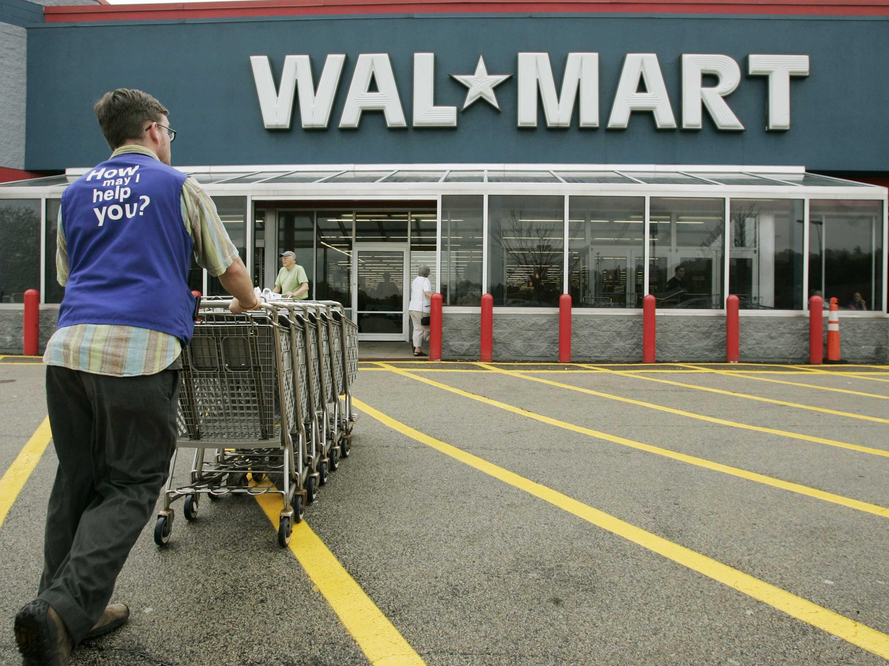 Walmart is closing hundreds of stores and laying off thousands of employees