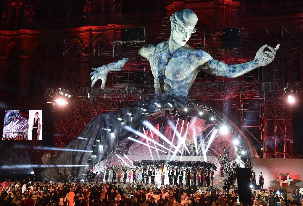 The ball has raised around 30 million euros ($34 million) for anti-AIDS causes within Austria and abroad (AFP Photo/HANS PUNZ)
