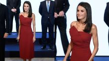 Todos los looks de Letizia en los Premios Mariano de Cavia