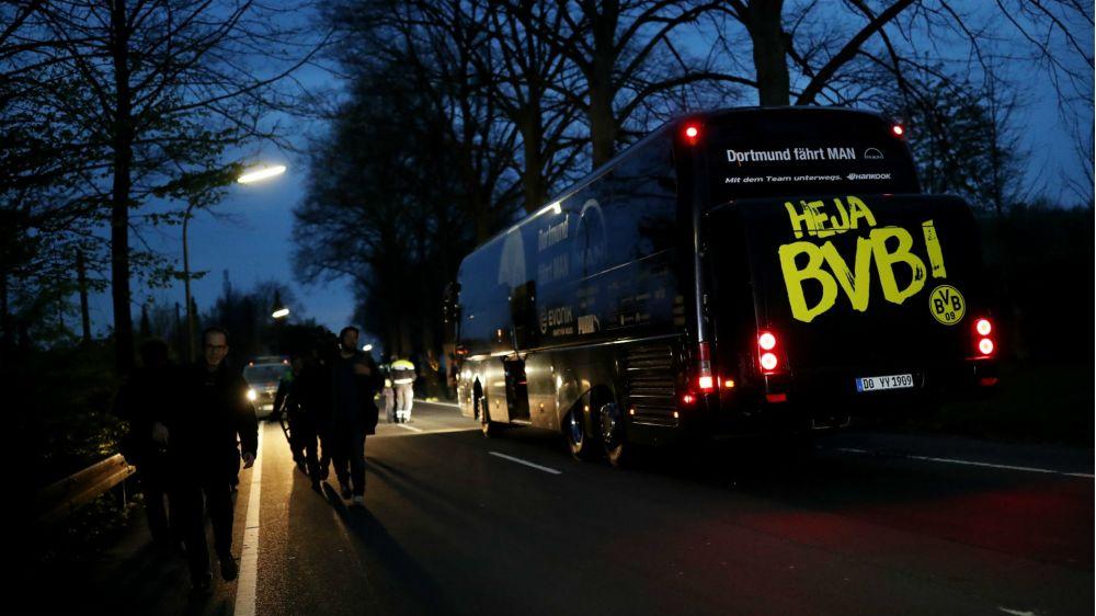 No terrorism link to Borussia Dortmund bus bombing, prosecutors say