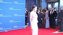 Irina Shayk Looks Perfect In Pink At The White House Correspondents Dinner