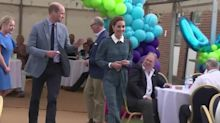 Will and Kate visit hospital on NHS anniversary