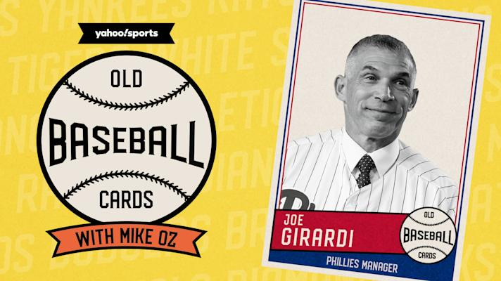 Joe Girardi finds a friendly rival in a pack of 1990 Topps | Old Baseball Cards