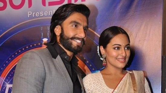 Ranveer And Sonakshi Promoting 'Lootera'