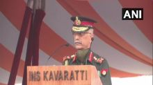 INS Kavaratti's commissioning marks significant step in securing country's maritime goals, says Army Chief
