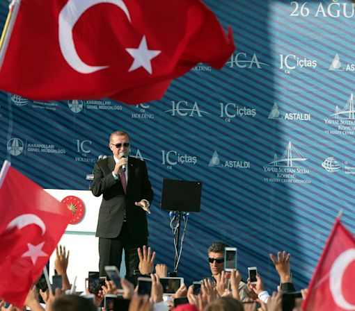 Turkish president vows to 'destroy terrorists'