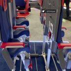 Company shows 'skyrider' standing seats at Paris Air Show