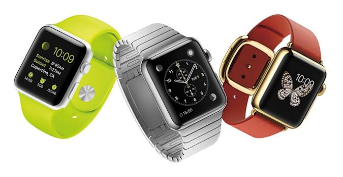 Apple Watch is available April 24 starting at $350