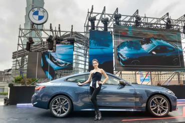 大家都想看的全新BMW 4系列雙門跑車236萬元起高調登場,品牌大使許瑋甯帥氣同框,並直呼4系列超帥