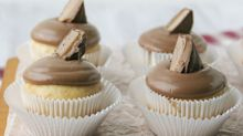 Your favorite candy is the secret to this tasty cupcake recipe