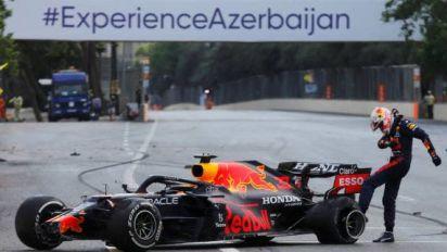 F1 - GP d'Azerbaïdjan - Max Verstappen (Red Bull), après le Grand Prixd'Azerbaïdjan: «C'est une énorme frustration»